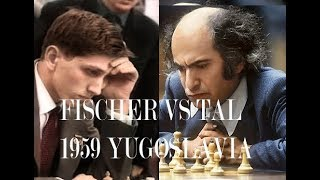 Fischer vs Tal: A Great Attacker On  A Great Sicilian Najdorf Defender – Bled 1959