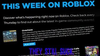 ROBLOX Live Ops 3 months later