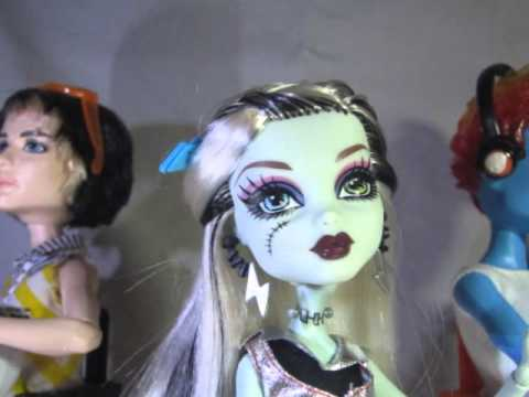 Monster high frankie jackson and holt call me maybe - Monster high jackson ...