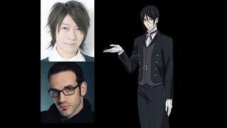 Anime Voice Comparison- Sebastian Michaelis (Black Butler)