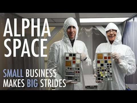 Alpha Space: Small Business Makes Big Strides