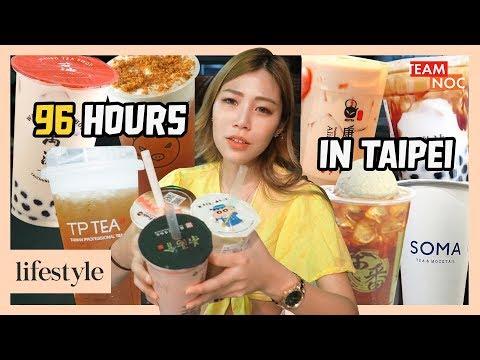 Buying EVERY Boba Milk Tea I See In Taiwan!
