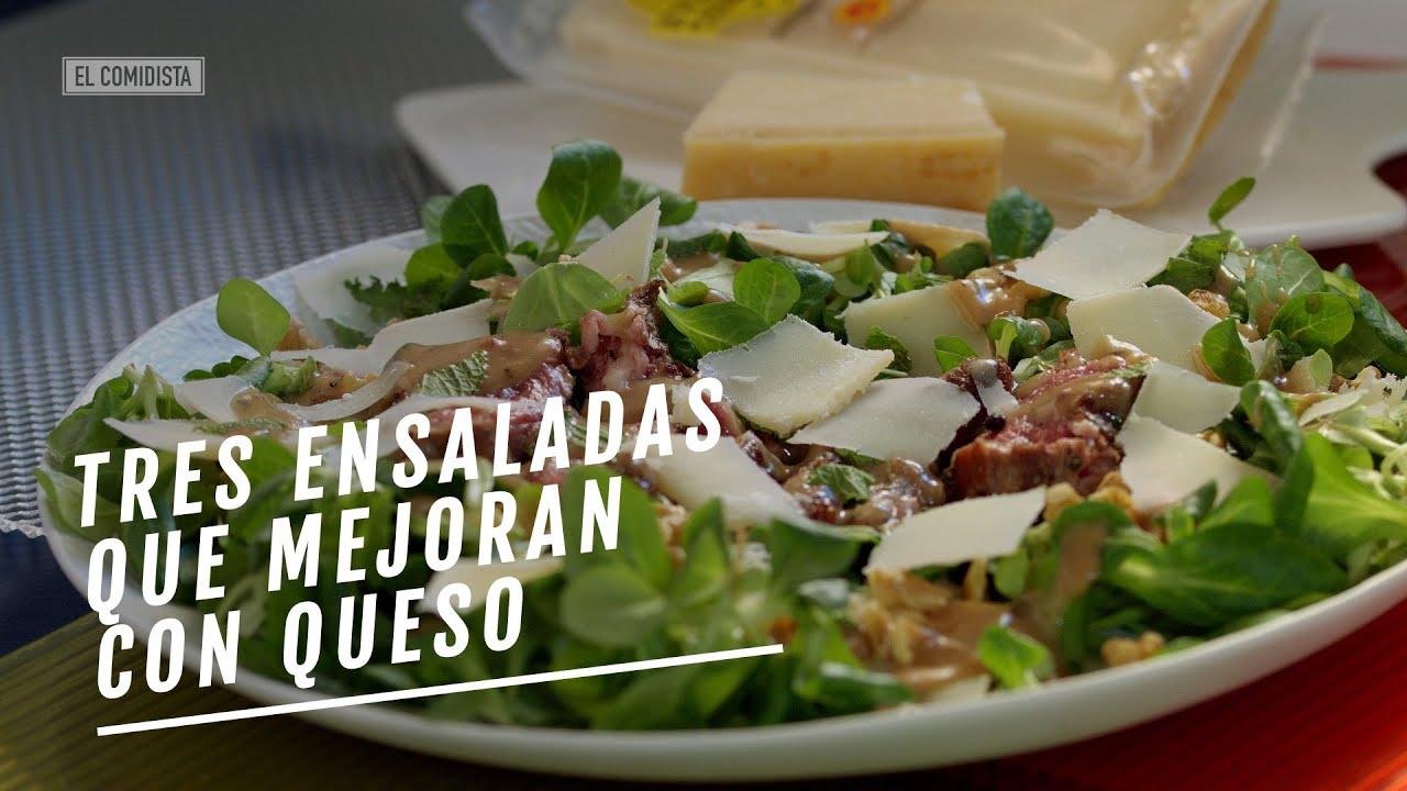 Tres ensaladas que mejoran con queso | EL COMIDISTA