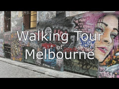 Melbourne CBD Walking Tour With Map