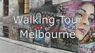Melbourne CBD Walking Tour with map