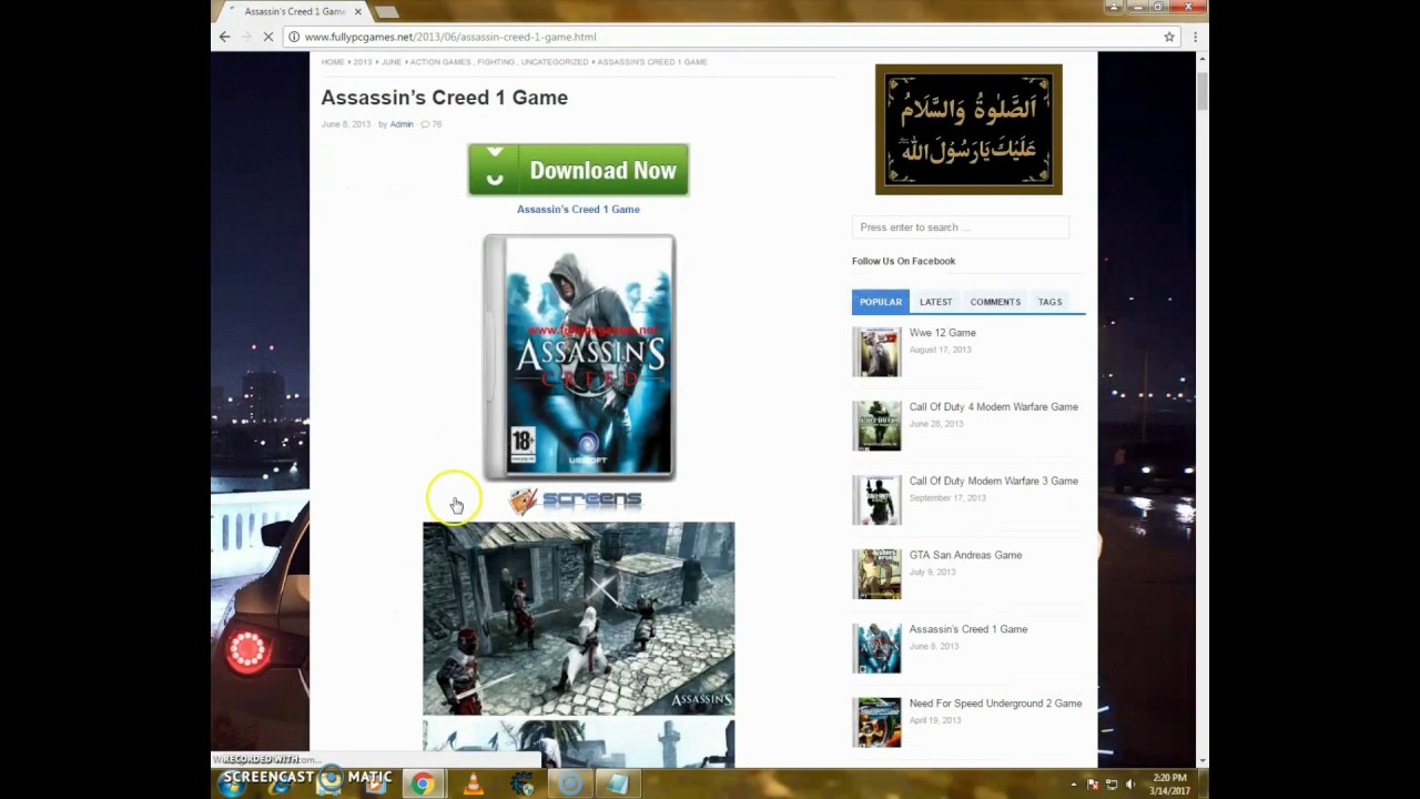 assassins creed 1 pc torrent