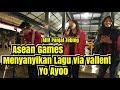 Wowwww !!! Atlit panjat tebing ASEAN GAMES menyanyikan lagu Yo ayo Via vallen di pendopo lawas jogja