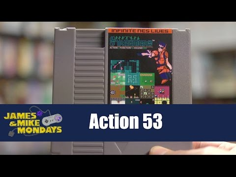 Action 53 (NES) Part 1 - James & Mike Mondays