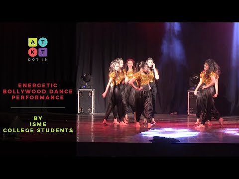 Energetic Bollywood Dance Performance by ISME College Students | Kaleidoscope 2017