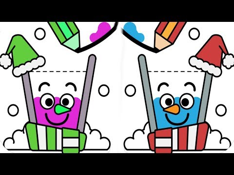 Happy Glass(New Update) - Christmas Ice Challenge Event! - DRAW A LINE TO FILL THE GLASS