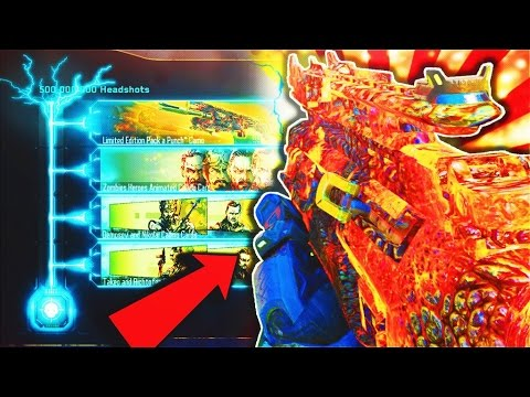 COMPLETING BLACK OPS 3 500,000,000 HEADSHOT CONTRACT! (LIMITED EDITION PACK a PUNCH CAMO GAMEPLAY)