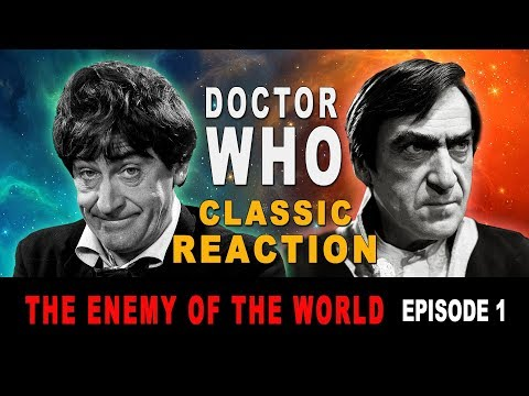 "DOCTOR WHO (Classic) Reaction - ""The Enemy Of The World""  Episode 1"