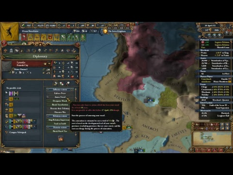 Game of Thrones with Mach 14 - Into the Eyrie - EU4