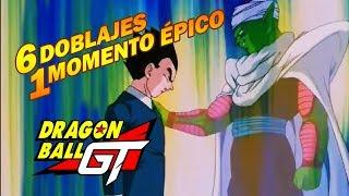 6 Doblajes 1 Momento Épico - Dragon Ball GT - Piccolo se sacrifica en varios idiomas