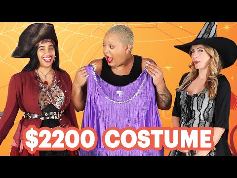 $17 Vs. $2200 Halloween Costume