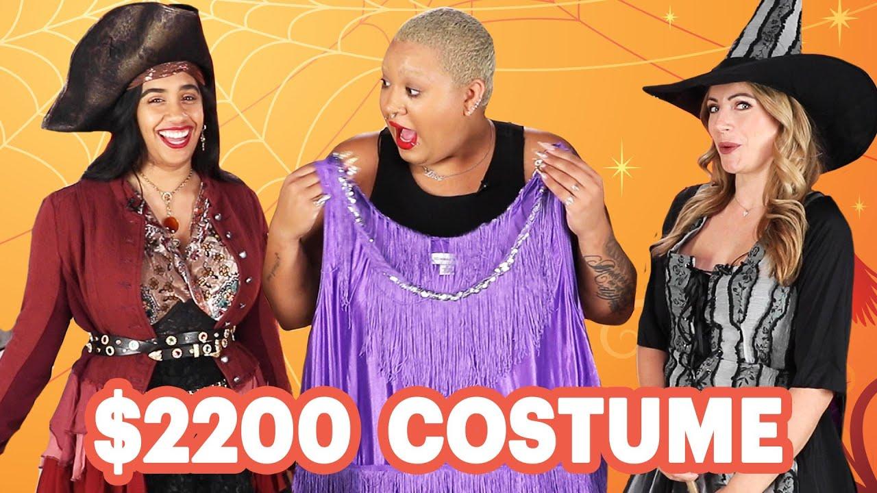 [VIDEO] - $17 Vs. $2200 Halloween Costume 5