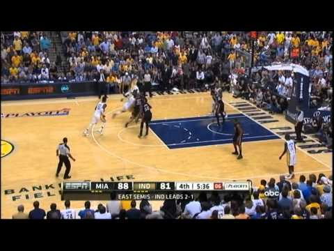 [5.20.12] Danny Granger - 20 points vs Heat (Game 4) (Complete Highlights)
