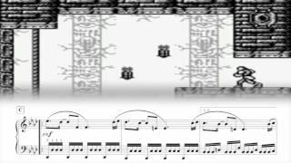 Castlevania II: Belmont's Revenge - Psycho Warrior (Rock Castle) (Piano Sheet Music)