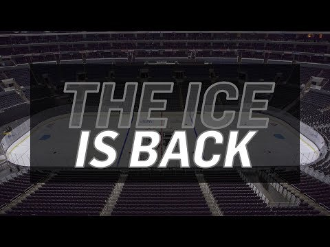 The LA Kings Ice is Back for the 2018-19 Season