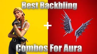 *NEW* Fortnite Aura Skin Best Backbling Combos!!