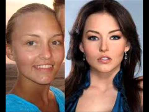 mujeres famosas sin maquillaje