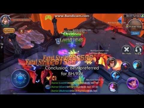 Crasher Gameplay: Fatal Strike vs Perfect Strike