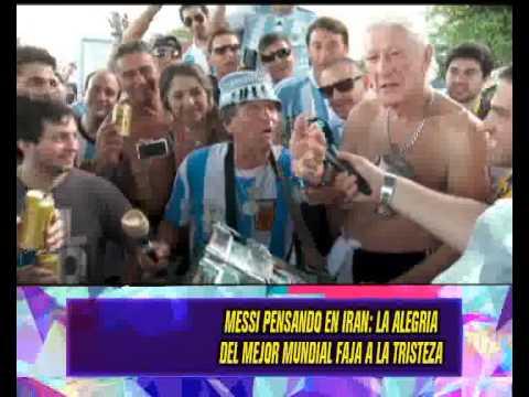 DURO ES MUNDIAL - ARGENTINA - MESSI - SABELLA - 17-06-14