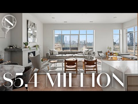 Inside a Jaw-Dropping Penthouse with Endless NYC Views | Unlocked with Ryan Serhant