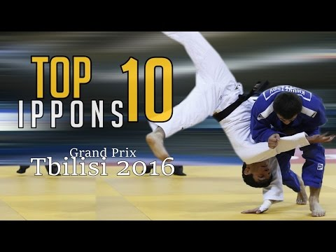 TOP 10 IPPONS | Grand Prix Tbilisi 2016 | JudoHeroes