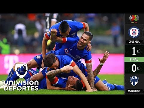 Cruz Azul 1-0 Rayados de Monterrey – GOL – RESUMEN – LIGA MX – SEMIFINAL DE VUELTA