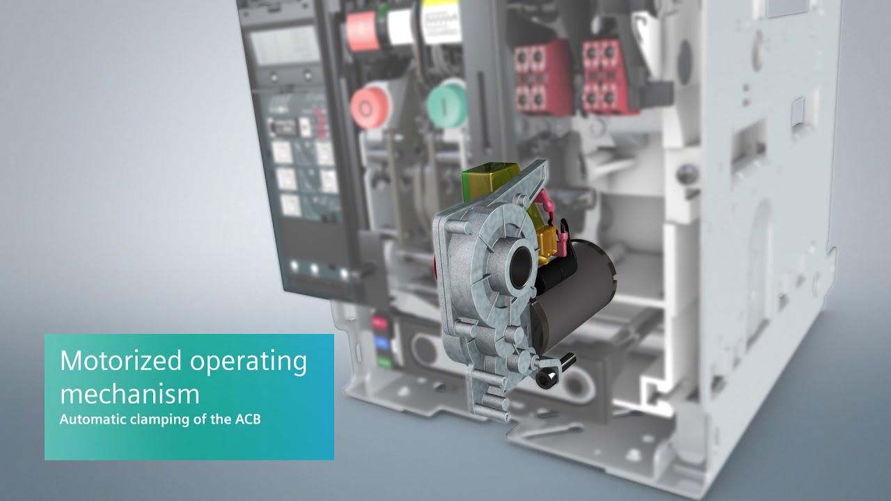 siemens 3wl air circuit breakers acbs  [ 1280 x 720 Pixel ]