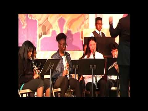 Penn Wood Middle School Spring Concert March 22, 2018