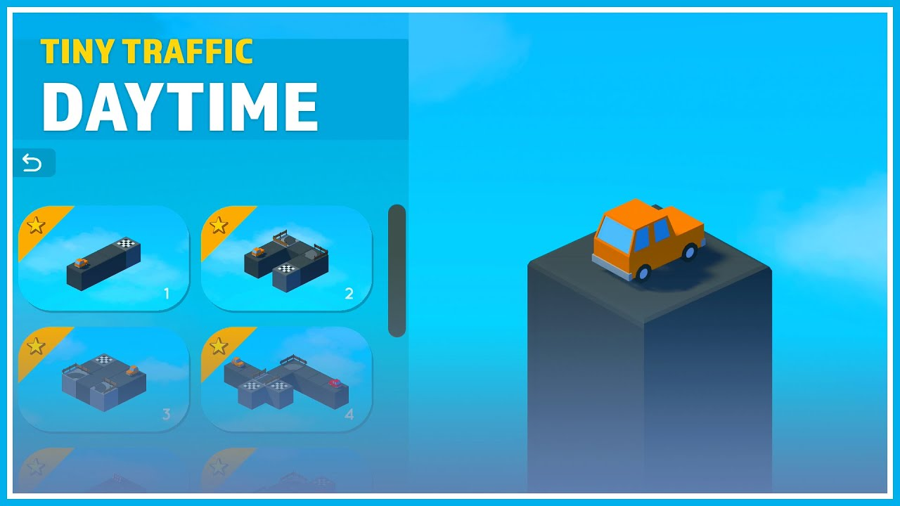 Tiny Traffic Walkthrough - Daytime Chapter 1, All Levels