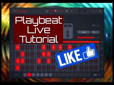 PLAYBEAT - Creative Groove Randomizer - iPad Live Tutorial
