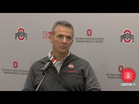 Ohio State HC Urban Meyer press conference - October 30, 2017
