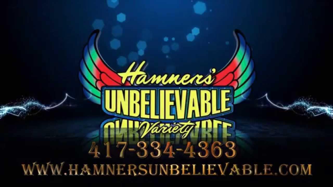 Hamners' Unbelievable 30 Sec Promo