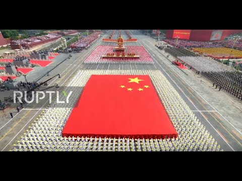 China: Military parade marks China's 70th National Day in Beijing