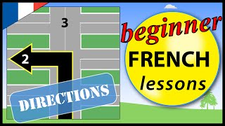 Directions in French | Beginner French Lessons for Children