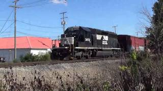Chasing NS 3472 with RS2M around Fremont, OH