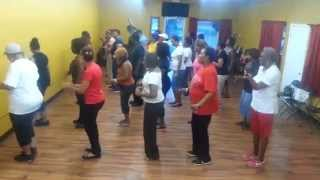 Mississippi Bounce Line Dance ... Kwl Steppers - New Orleans