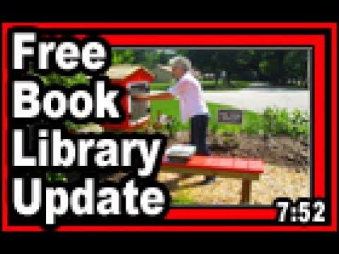 Free Book Library Update - Wisconsin Garden Video Blog 775