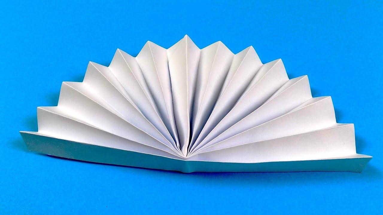 Веер из бумаги в картинках