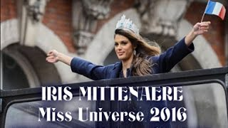 IRIS MITTENAERE Miss Universe 2016 HOMECOMING in FRANCE