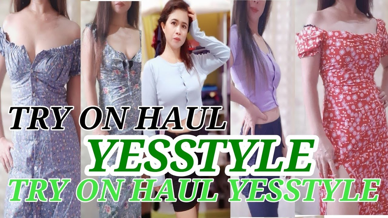 TRY ON HAUL / YESSTYLE/SEXY DRESS/JEAN FAB