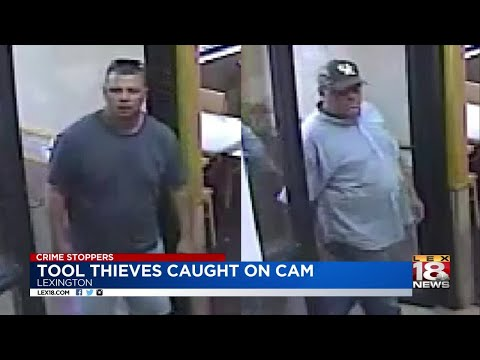 Crime Stoppers: Tool Thieves Caught On Camera