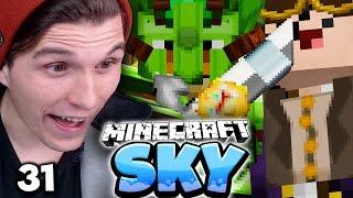 MEIN NEUES SCHWERT & EDGAR ZIEHT UM! ✪ Minecraft Sky  #31   Paluten