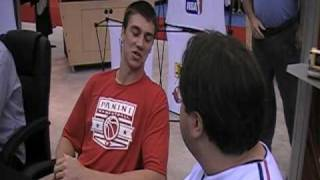 BECKETT AT THE NATIONAL: Indiana Pacer Tyler Hansbrough talks basketball cards with Beckett Media