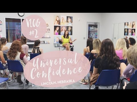 UNIVERSAL CONFIDENCE WORKSHOP WHILE VISITING NEBRASKA | LifeWithNia