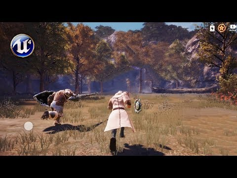 Top 10 Unreal Engine 4 Based RPG/MMORPG For Android & IOS!
