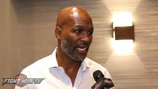 BERNARD HOPKINS REACTS TO WARD RETIREMENT